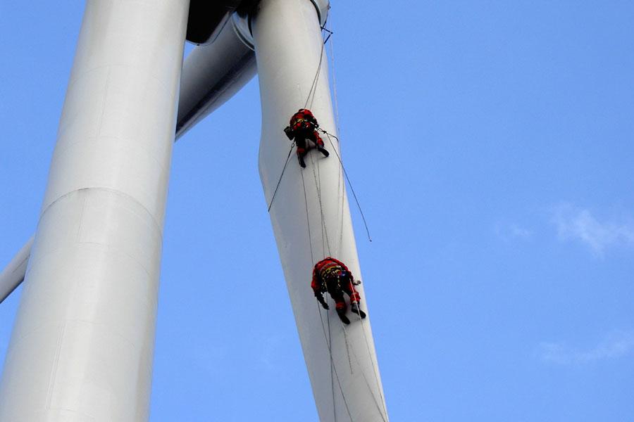 Windkraftanlagen service